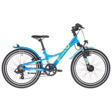 "Vélo de Ville S'COOL XXLITE Alu 7V 20"" Bleu 2021"
